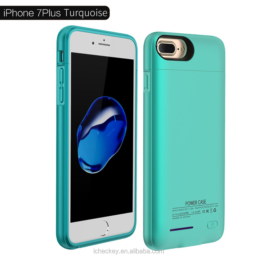 2017 New Arrival 3000 mAh battery case backup cell phone charger case for iPhone 6 external power case