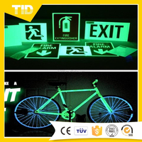 Bicycle wheel glow in the dark stickers Printing
