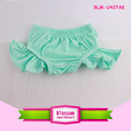 Latest Designed Wholesale summer baby cotton ruffle 0-6Y baby bloomerswith the leg ruffle