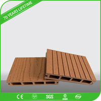 JFCG 2016 super quality wpc decking with natural wood design and much longer life