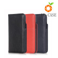 High quality PU Leather Magnetic cover for iphone