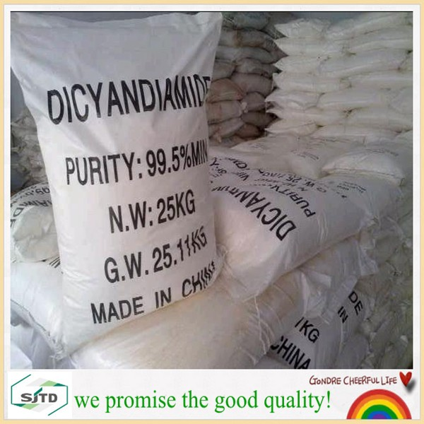 sell in large quantity DCDA 99.5% dicyandiamide powder 461-58-5