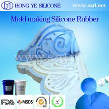 rtv2 rubber silicon manufacturer for plaster crafts mold