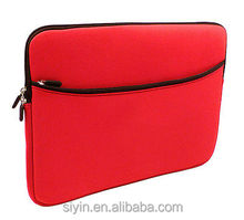 "zipper waterproof carriable neoprene 15"" laptop sleeve bag case cover pouch for 15"" laptop sleeve"