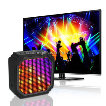 Led melody bluetooth speaker with free promotional gift bluetooth speaker free shipping to Qatar