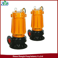Wholesale ZHONGDA WQ Series Long Life Single-Stage Submersible Sewage Waste Water Pump