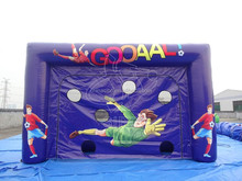 GMIF portable folding shooting inflatable football door gate beach soccer goal for games