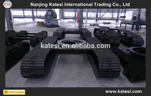 Construction machine and drill machine track undercarriage , rubber mini digger tracks