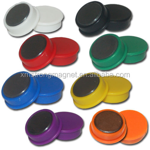 plastic magnet button magnetic pin for whiteboard accessories