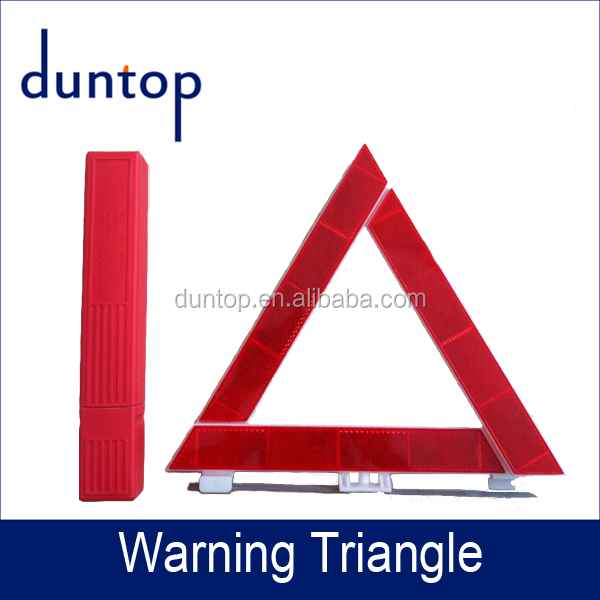 Hot Sale!!! Car Triangle Warning Sign of Duntop