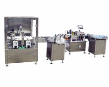 Eye drop liquid filling plugger capping machine rotary filling capper equipment for medical solution