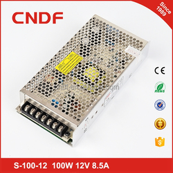 CNDF applied to battery backup ac to dc switching power supply 100W 5V 20A