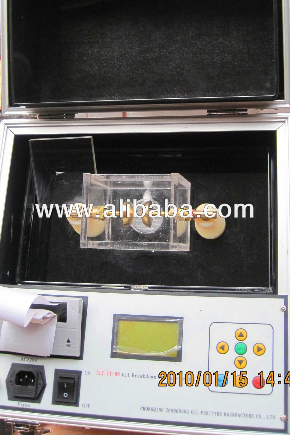 Insulating Transformer Oil Dielectric Strength Testing Unit