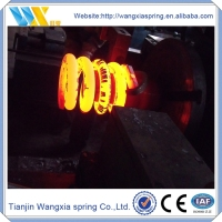 Motorcycles, agricultural machinery hot coiling spring