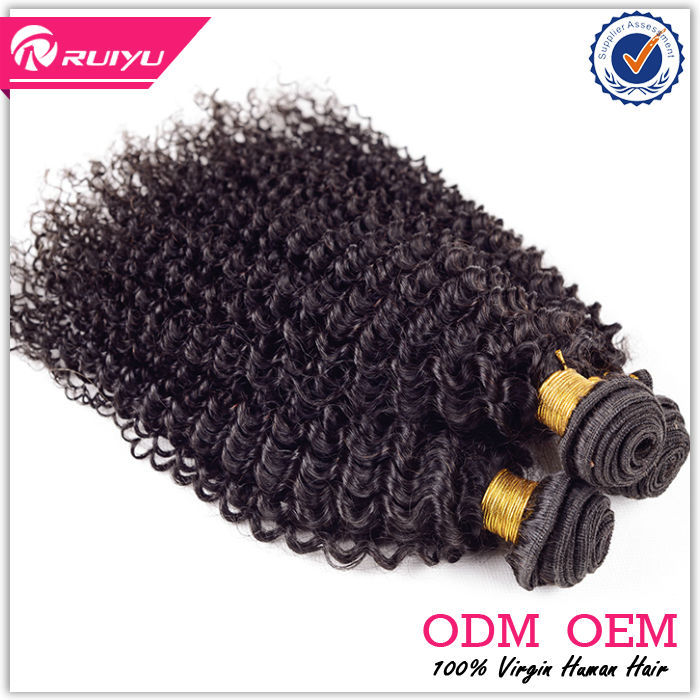 Hot!!! Charming 6A 100% virgin brazilian tight curl remy hair weave