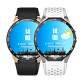 New Arrival 1.39 inch Single SIM Card WiFi GPS 2.0MP Camera Android KW88 Smart Watch Phone