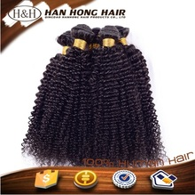 unprocessed virgin human hair afro hair extension kinky curly dream hair