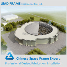 Space frame dome steel buildings prefab mall