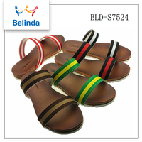 Modern fashion summer low price fancy branded chappals for ladies