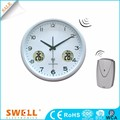 2018 NEW cheap gift quartz clock promotion clock with elegant design and low price S628B