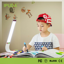 IPUDA LED Desk Lamp Flexible Table Lamp 3-Level Rechargeable for Reading Studying