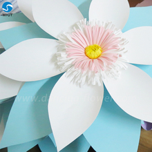 High Quality Wedding Decoration crepe paper bouquet flowers for wedding decoration