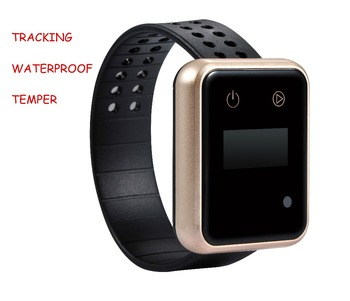watch gps tracker fast track wrist watches prisoners watch with tracking APP