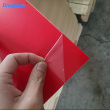 Multi-color abs plastic sheet for 3d printer