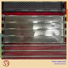 China product Chain plate stainless steel conveyor belt