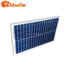 Maximum power voltage 17.5v low price and high quality top selling 50w poly solar panel