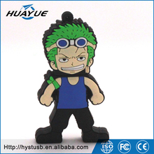 One Piece Roronoa Zoro usb flash drive Cartoon anime usb stick cute cartoon pendrive 2gb 4gb
