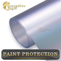 3.6mil Transparent Body Wrap Removable Car Sticker Protective Film Invisible Car PPF Film