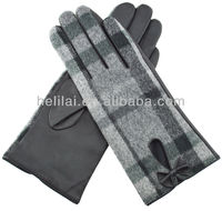 Wholesale Helilai Factory Loweprice Ladies Winter Warm Leather Gloves