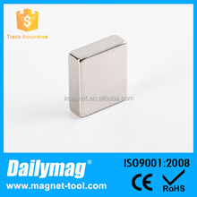 Zinc plating Block 50X50X25mm neodymium magnet n50 block