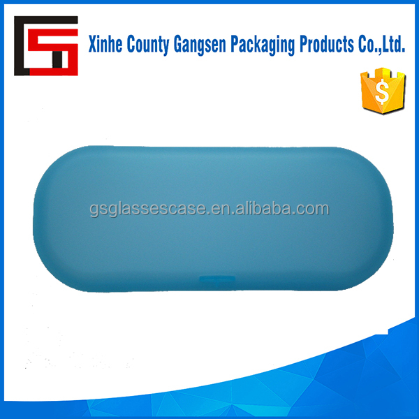 Low Price Colorful Hard Wearing Plastic Glasses Case