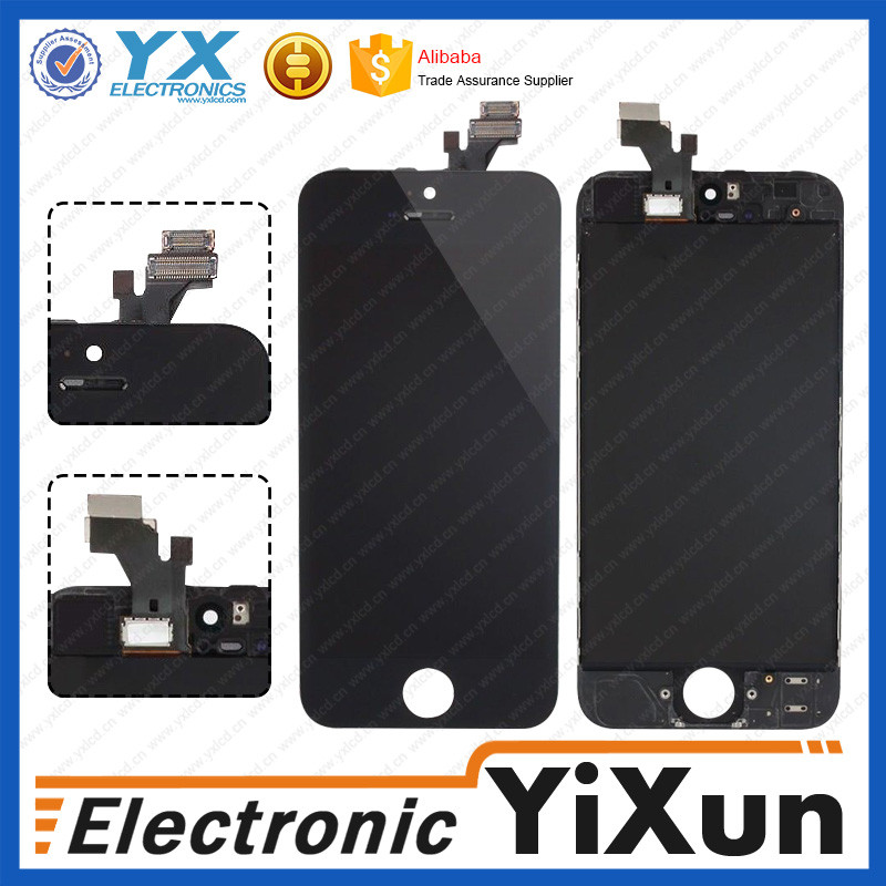 Factory directly supply original lcd assembly for iphone 5