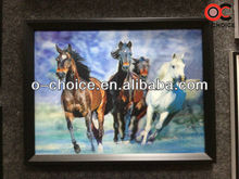 CK-3 Popular Decorative Italian Wild Running Horse Animal 3d Pictures Paint