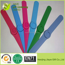 Changeable Silicone Slap Watch Faces/ Geneva Slap Watch
