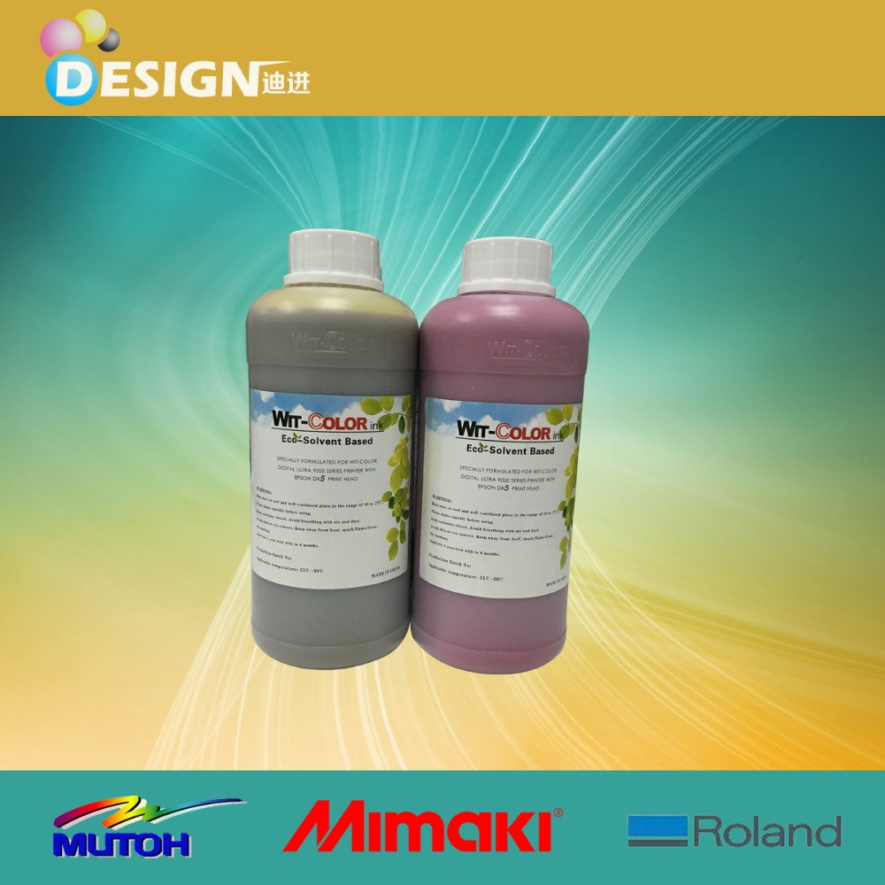 For ultra 9100 9200 dx5 dx7 wit-color tinta eco solvente