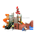 Cheap plastic playground equipment slides for preschool