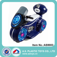 Kids Electrical Motorbike Toy Rechargeable Power Car with Storage