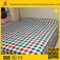 Great material cheap new organic cotton fabric for bedding sets