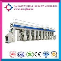 High Speed China Top selling Automatic Small PET Rotogravure Gravure Intaglio Printing Press Machine