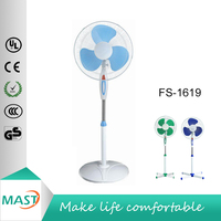 Hotselling Household Floor Standing Fan /Stand Fan 16 Inch Round Base with strong wind