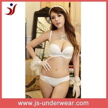 Ladies high quality fashion beautiful seamless lingerie one piece bra and panties