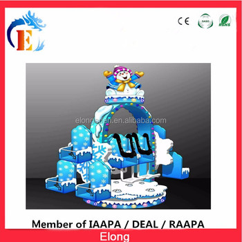 CE approved indoor amusement park rides, children amusement park equipment mega drop