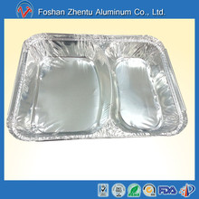 Bruma sanitary divided aluminum foil container