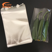 custom shape cpp bread plastic bag