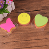 Heart-shaped Sticky Notes Posted Self-Adhesive Paper Notes