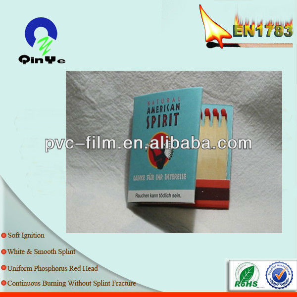 matchbook customized matches safety matches